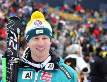 Hannes Reichelt holt im Super-G die Goldmedaille