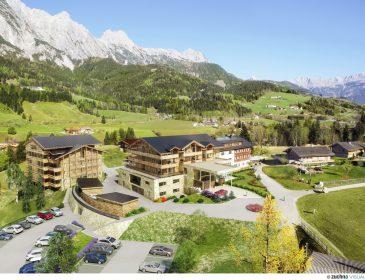 """Neues """"Puradies"""" ab Dezember 2016: in Leogang entsteht ein einmaliges Erholungsresort – Alpine Freuden in neuer Qualität"""