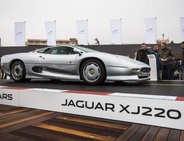 Jaguar Land Rover mit Staraufgebot beim 45. AvD Oldtimer Grand Prix