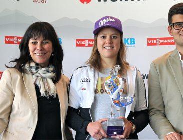 Skiregion Zillertal: Viktoria Rebensburg mit Schultz-Social- Media-Award 2017 ausgezeichnet