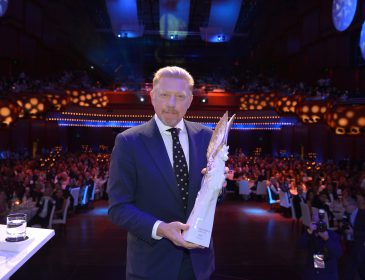 PEGASOS-Trophäe für Boris Becker