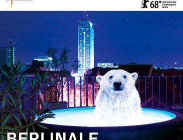 Festivalplakat zur Berlinale 2018: Die Berlinale den Bären