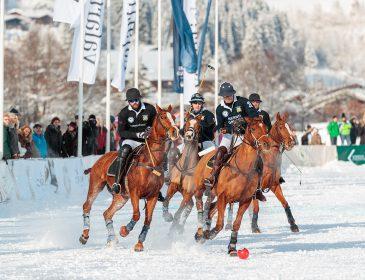Der Countdown zum 16. Bendura Bank Snow Polo World Cup Kitzbühel 2018 beginnt