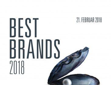Best Brands 2018: Die Top 10 Gewinner stehen fest