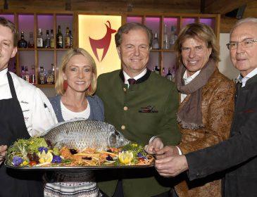 Karpfenessen mit Franz Beckenbauer im Hotel Kitzhof in Kitzbühel