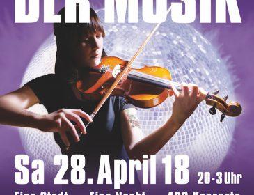 Die Lange Nacht der Musik am 28. April 2018 in München