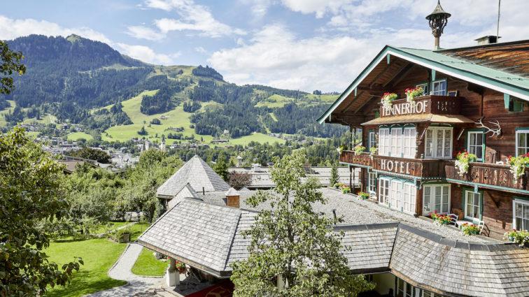 Das 5 Sterne Relais & Châteaux Tennerhof Gourmet & Spa de Charme Hotel –  in Kitzbühel – auf den Spuren von James Bond