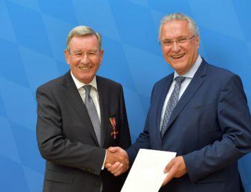 Karl Hopfner erhält Bundesverdienstkreuz