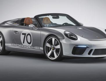 """Weltpremiere zum Jubiläum """"70 Jahre Porsche Sportwagen"""""""