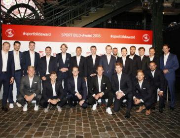Die Sportwelt zu Gast in Hamburg: SPORT BILD Award 2018 zeichnet die Sieger des Jahres aus