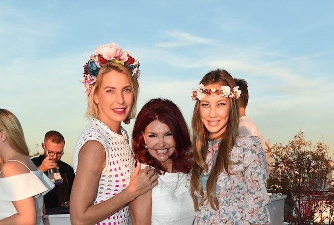 """""""White & Pink Hyaluron Party"""" mit vielen VIPs"""