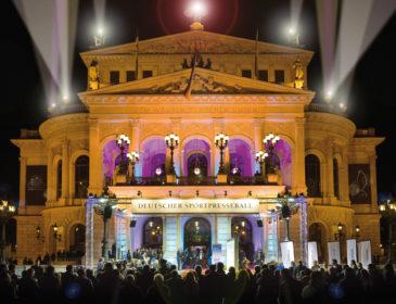 37. Deutscher SportpresseBall am 3. November 2018 in der Alten Oper Frankfurt