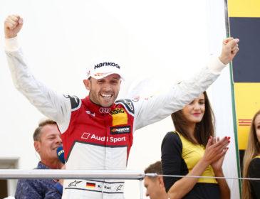 Perfektes Wochenende bei der DTM: René Rast feiert historischen Erfolg am Nürburgring
