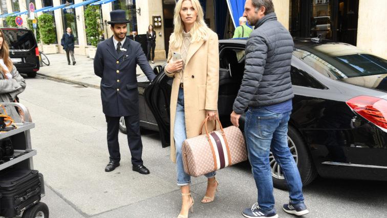 Lena Gercke und ihr neues Taschen Top-Modell
