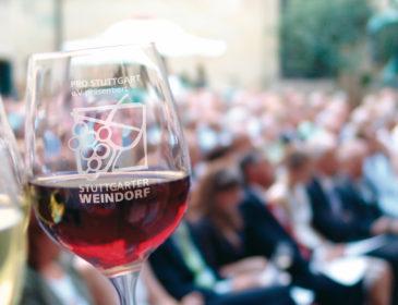 Laubenprämierung auf dem Stuttgarter Weindorf