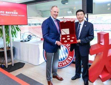 FC Bayern startet Football School in Taiyuan