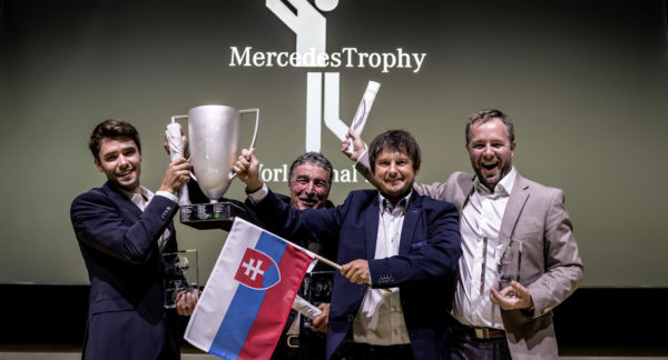MercedesTrophy World Final 2018 in Stuttgart