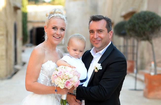 Falk und Andrea Raudies: Märchenhochzeit wie aus dem Bilderbuch mit vielen VIP-Gästen