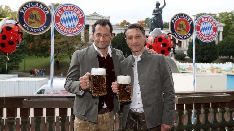 Wiesnbesuch des FC Bayern München 2018