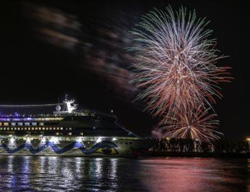 Zweite AIDA Weltreise startete in Hamburg