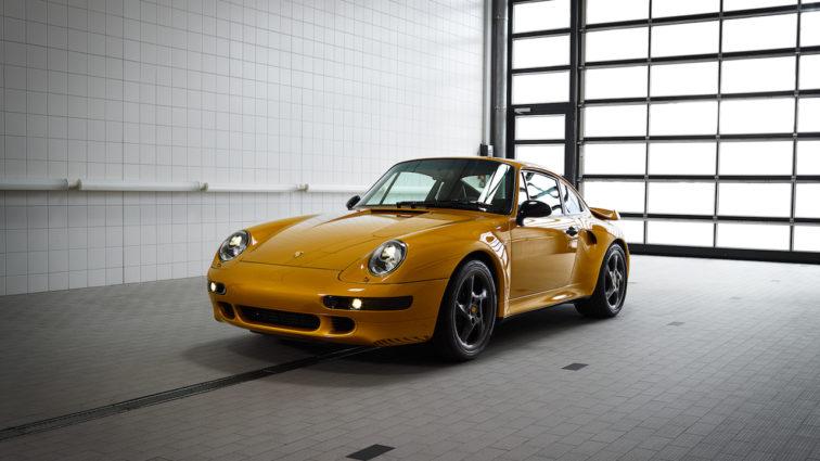 """""""Project Gold"""" von Porsche Classic wechselt für 2,7 Millionen Euro den Besitzer"""