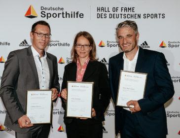 """Deutsche Sporthilfe: Katja Seizinger, Andreas Dittmer und Gerd Schönfelder offiziell in """"Hall of Fame"""" aufgenommen"""