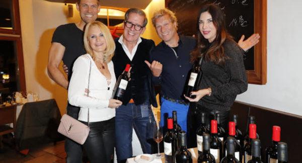 """VIP-Dinner mit Präsentation der Weine des Weinguts """"Il Borro"""" der Ferragamo-Familie im Restaurant """"Vino e Gusto"""" in München"""