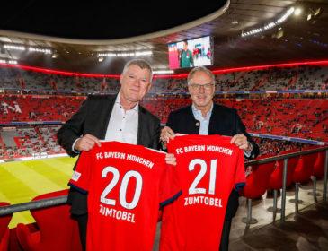 Zumtobel Group wird offizieller Lichtpartner  des FC Bayern München