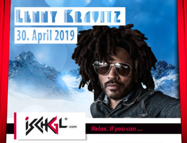 US-Rock-Legende Lenny Kravitz live beim Saisonfinale in Ischgl