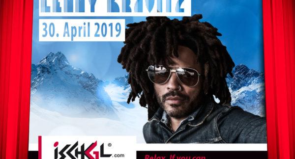 US-Rock-Legende Lenny Kravitz live beim Saisonfinale in Ischgl