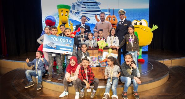 AIDA Cruises unterstützt den RTL Spendenmarathon mit 100.000 EURO