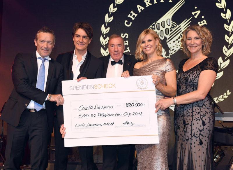 """""""Costa Navarino EAGLES Präsidenten Golf Cup"""" im Costa Navarino Resort in Griechenland vom 15. bis 18. November 2018"""