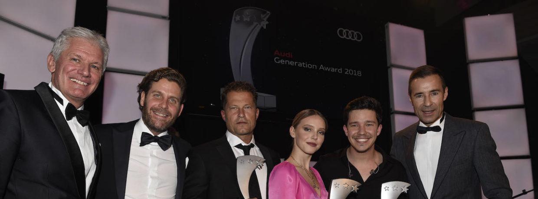 Verleihung des 12. Audi Generation Award im Hotel Bayerischer Hof in München