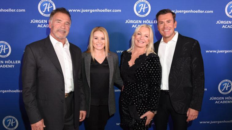 Arnold Schwarzenegger beim Power Weekend von Jürgen Höller in München