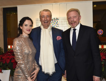 Boris Becker und zahlreiche weitere VIPs beim Pre-Christmas Dinner in der Galerie Kronsbein in München