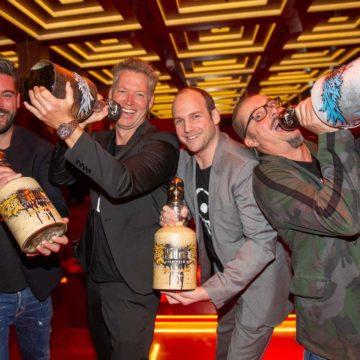Patrick Knapp Schwarzenegger:  Padre Azul Tequila Party im Hotel Roomers München