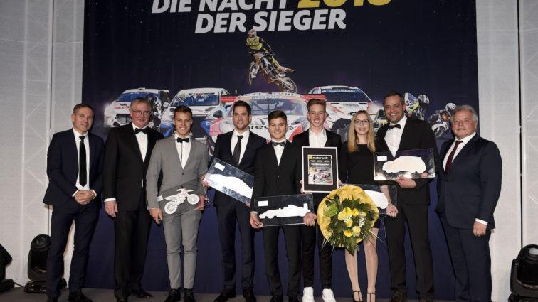 ADAC Sportgala 2018: Erfolgreiche Motorsportler in München geehrt