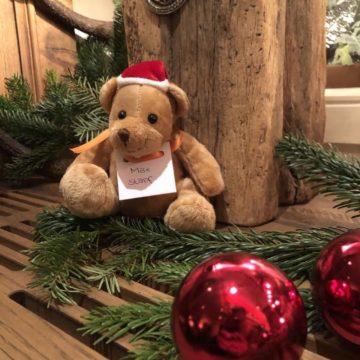 CHARITY-BÄREN für den guten Zweck für einsame kranke Kinder in München