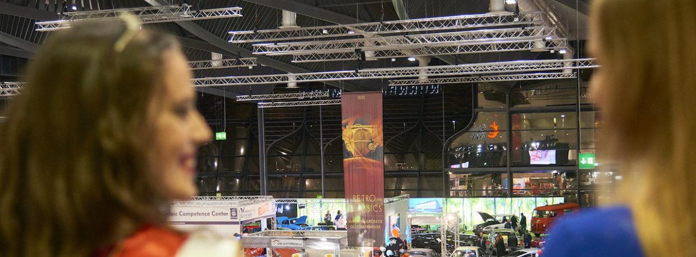 RETRO CLASSICS BAVARIA in Nürnberg mit neuem Besucherplus
