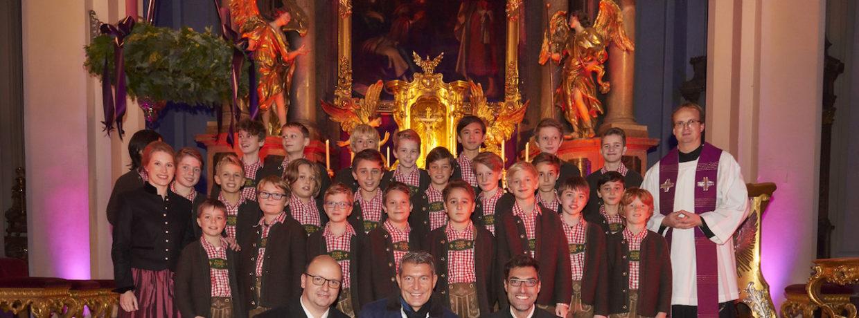 Adventskonzert von Juwelier Thomas Jirgens mit dem Tölzer Knabenchor in München