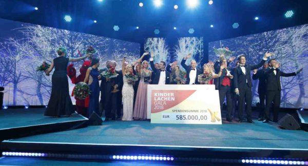 Die 14. Kinderlachen-Gala für bedürftige Kinder in Dortmund