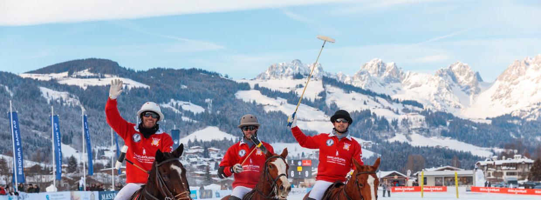 17. Bendura Bank Snow Polo World Cup: Team Cîroc Vodka triumphiert in Kitzbühel!
