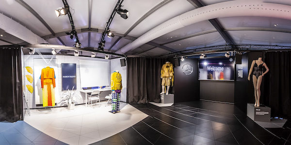 Das Mode-Engagement von Mercedes-Benz