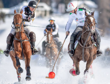 Die Aktion am 35. Snow Polo World Cup St. Moritz geht weiter – 2. Tag