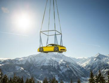 Großer Auftritt für den neuen Elfer von Porsche in den Alpen