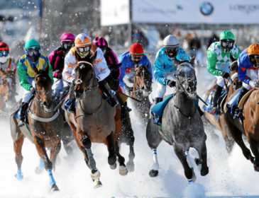 White Turf St. Moritz 2019: 112 Jahre Internationale Pferderennen auf Schnee in St. Moritz