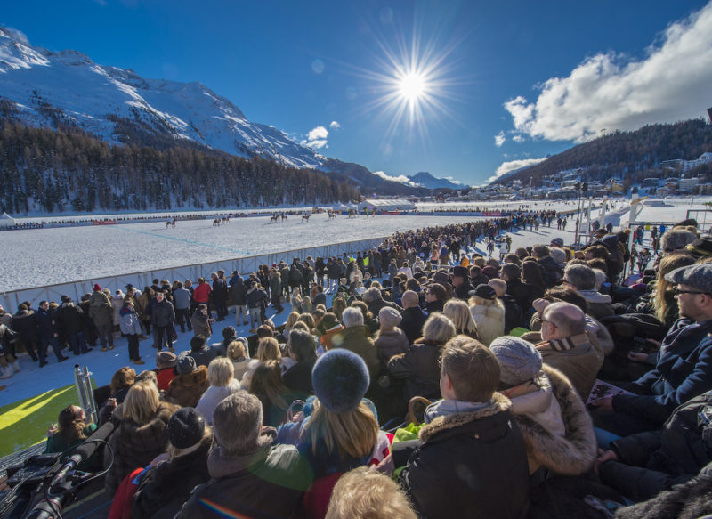 35. Snow Polo World Cup 2019 in St. Moritz