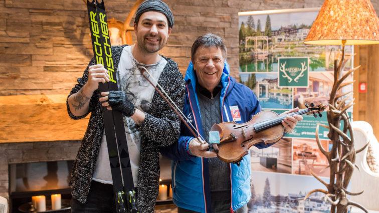 FIS Nordic WSC Seefeld 2019 | Farbenfrohes Eröffnungsspektakel – David Garrett rockte den Medal Plaza