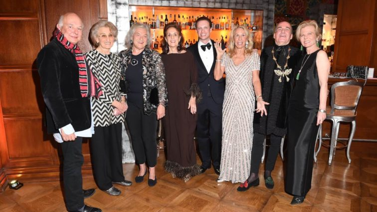 "14. Benefizgala ""Hot Party in the Snow"" zugunsten des Sheba Medical Centers im Carlton Hotel in St. Moritz"