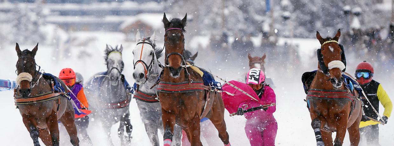 White Turf St. Moritz 2019 – 1. Rennsonntag